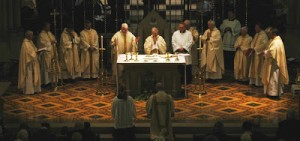 Chrism Mass Eucharistic prayer